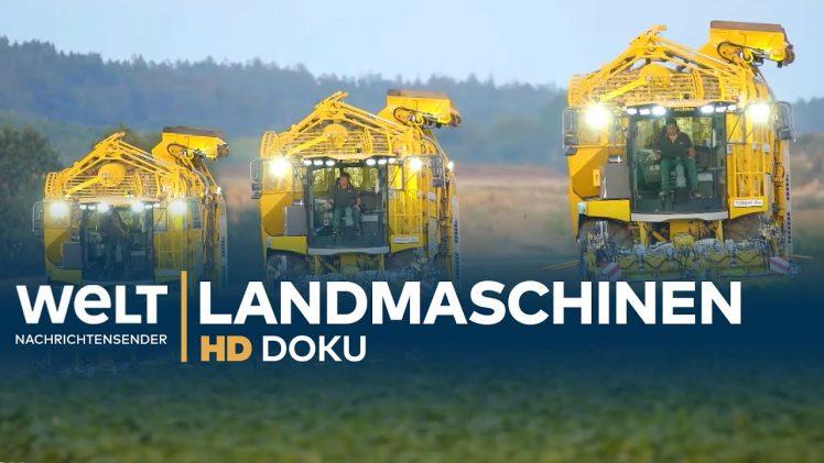 Landmaschinen – PS-Riesen im Einsatz | HD Doku
