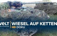 Wiesel Kettenfahrzeug – Feuerkraft für die Fallschirmjäger   HD Doku
