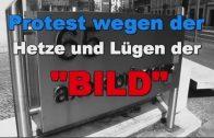 """#BILDBOYKOTT * Berlin, Demo am Axel-Springer-Haus gegen Lüge und Hetze der """"Bild"""""""