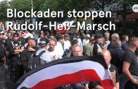 Blockaden stoppen Rudolf-Heß-Gedenkmarsch in Berlin