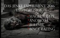 Das Jenke Experiment 2016 RTL Doku | Essstörung | Magersucht | Anorexia | Binge Eating