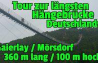 ✔DIE GRÖSSTE HÄNGESEILBRÜCKE Deutschlands: Geierlay in Mörsdorf (Tour und Überquerung mit Frau Brehm