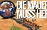 Die Mauer muss her! | RTS Olympiade gegen Maxim Game 2 AoE