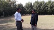 Discussing new upcoming event with A.R Soomro ( KTO )