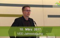"""""""Elektromobilität im Autohaus …"""", Philipp Trommer, VEE-Jahrestagung 2017"""