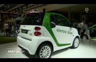 Elektromobilität mit Batterie, Brennstoffzelle oder Hybrid (ZDF-Morgenmagazin ARD-Buffet 14.09.2017)