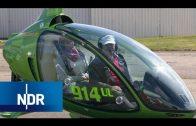 Gegen den Wind: Von Lübeck nach Sylt mit dem Tragschrauber    die nordstory   NDR Doku