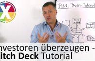 Investoren überzeugen – Pitch Deck Tutorial