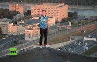 Leicht- oder Wahnsinn? RT-Doku über russische Roofer