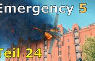 Let's Play Emergency 5 Teil 24 – Großeinsatz: Flugzeugabsturz und ab nach Berlin [Kampagne]