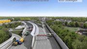 MEGA AUTOBAHN BAUSTELLE DOKU #95 🚧 SCANIA ASPHALT TRUCK LIEBHERR 926 BAGGER highway construction