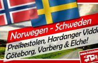 Norwegen & Schweden: Preikestolen, Hardangervidda, Festung Varberg, Göteborg Altstadt & Elche!