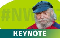 NWX17 – Prof. Dr. Frithjof Bergmann auf der XING New Work Experience 2017
