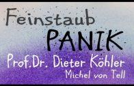 Prof. Dr. Dieter Köhler- Lungenfacharzt sagt – UNSINN – Dieselfahrverbot: Was soll der Unsinn !?