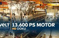 Rolls-Royce Power Systems – Wie ein 13.600 PS Motor entsteht   HD Doku