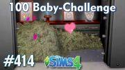 Sims 4 – 100 Baby Challenge #414 – Schwanger im Tresor –