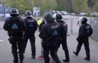 Spiegel Papiere streng geheim Polizei im Einsatz