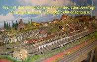 Spur N Modellbahn heute, mein Sonntags Fahr Video für euch, neue Züge