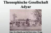 Theosophische Gesellschaft Adyar