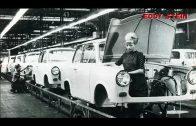 Trabant Produktion im Werk  Zwickau