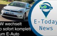 VW wechselt jetzt komplett vom Verbrenner zur E-Mobilität + will die Kaufprämien drastisch verändern