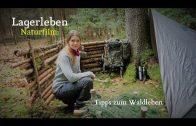 Winterübernachtung im Wald – Leben mit und in der Natur – Doku –  Vanessa Blank – 4K