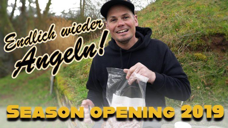 Wir Angeln wieder – Season-Opening 2019 | Karpfen Boilie Dickenmittel |