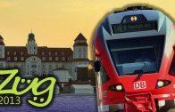 Zug2013: Eisenbahn auf Rügen Doku Teil 1 (Insel, Geschichte und IC, BR429 Flirt, BR650, BR151)